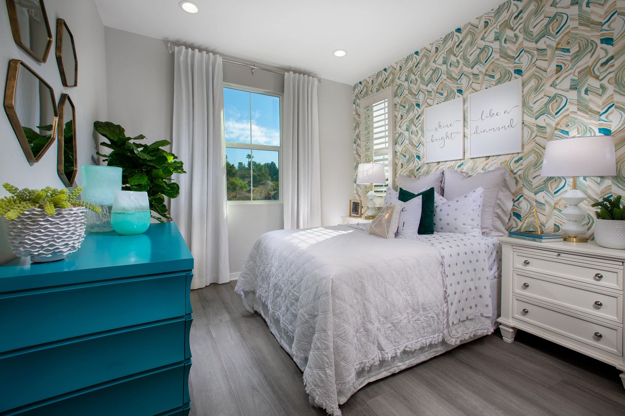 Bedroom featured in the Plan 2 By Shea Homes in Orange County, CA