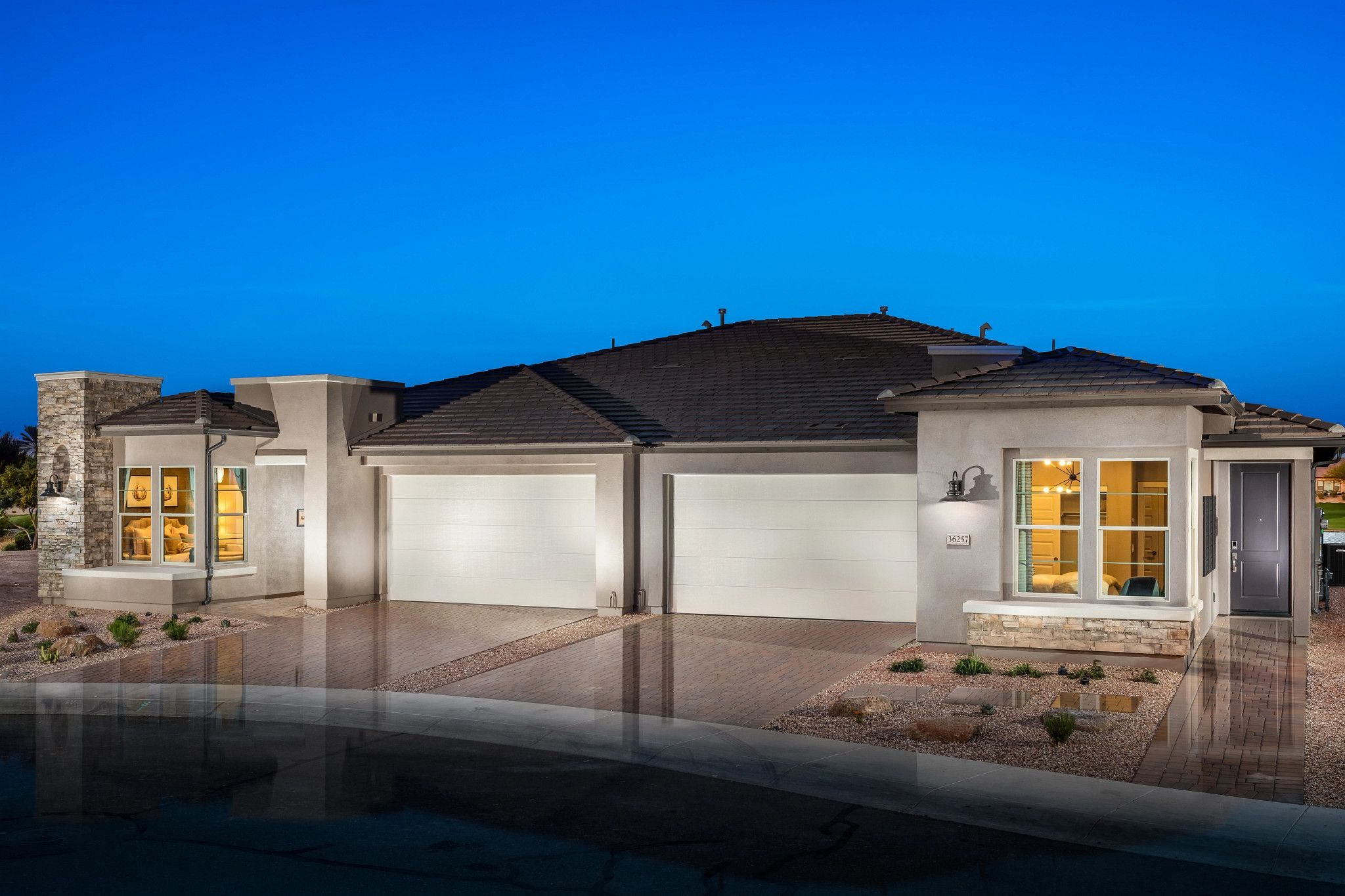 Exterior featured in the Valletta By Shea Homes - Trilogy in Phoenix-Mesa, AZ