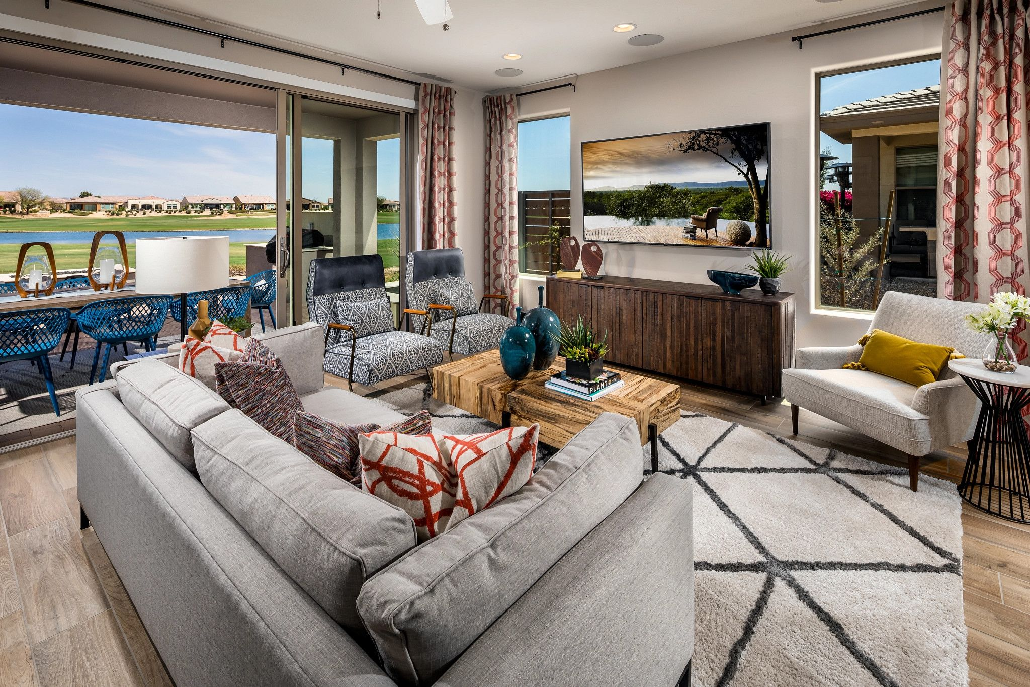 Living Area featured in the Evia By Shea Homes - Trilogy in Phoenix-Mesa, AZ