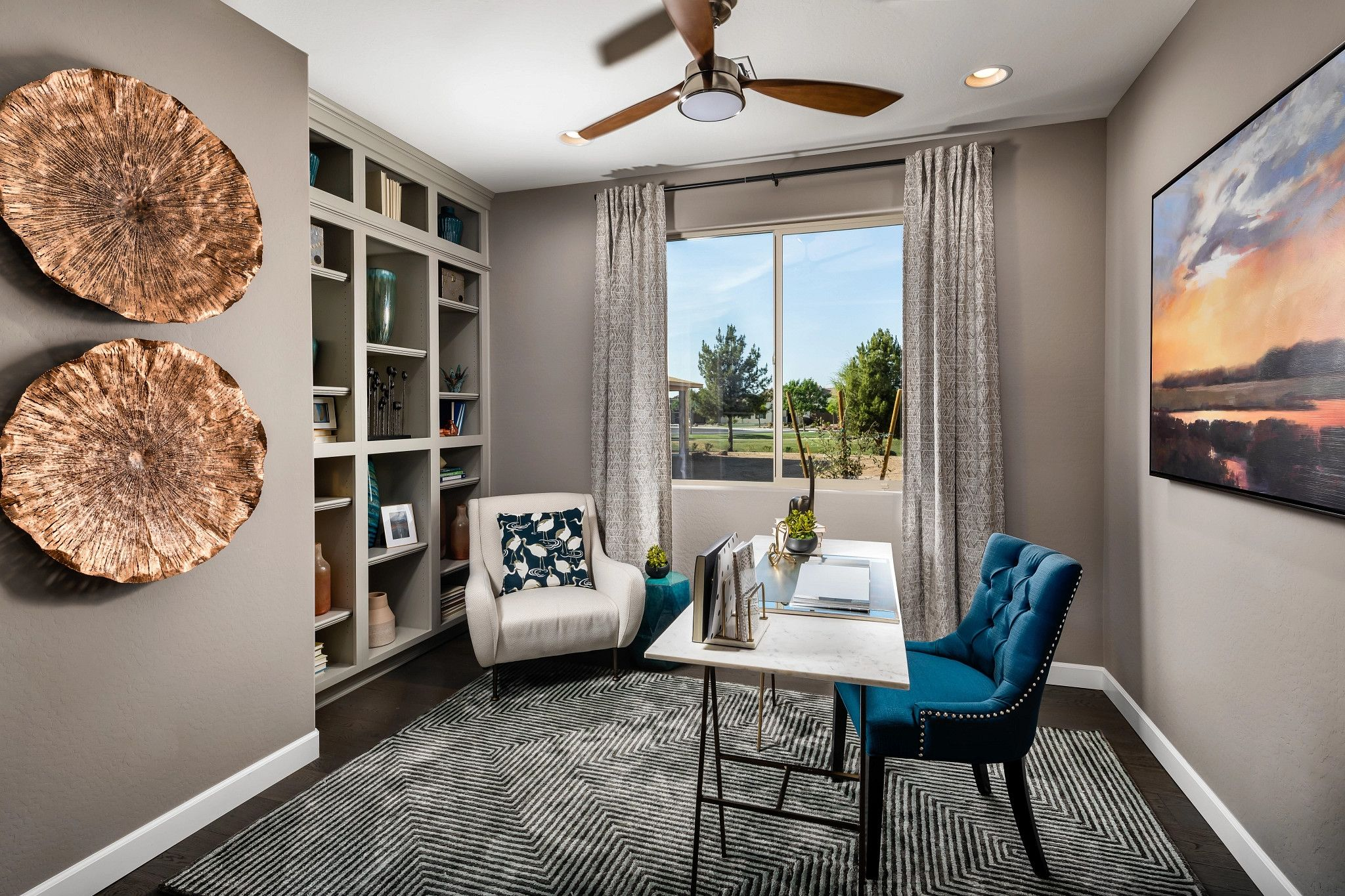 Living Area featured in the Valletta By Shea Homes - Trilogy in Phoenix-Mesa, AZ