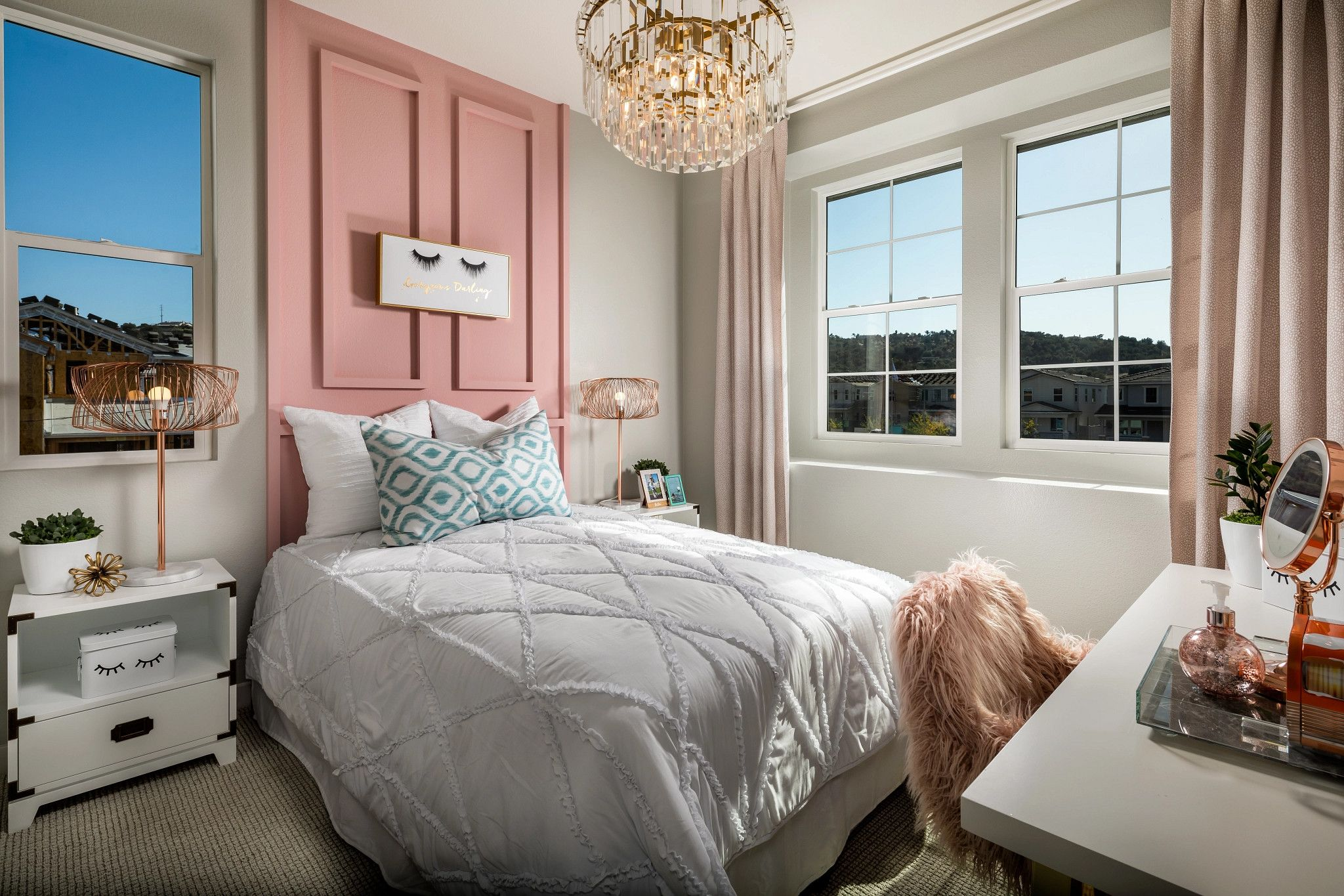 Bedroom featured in the Plan 3 By Shea Homes in San Diego, CA