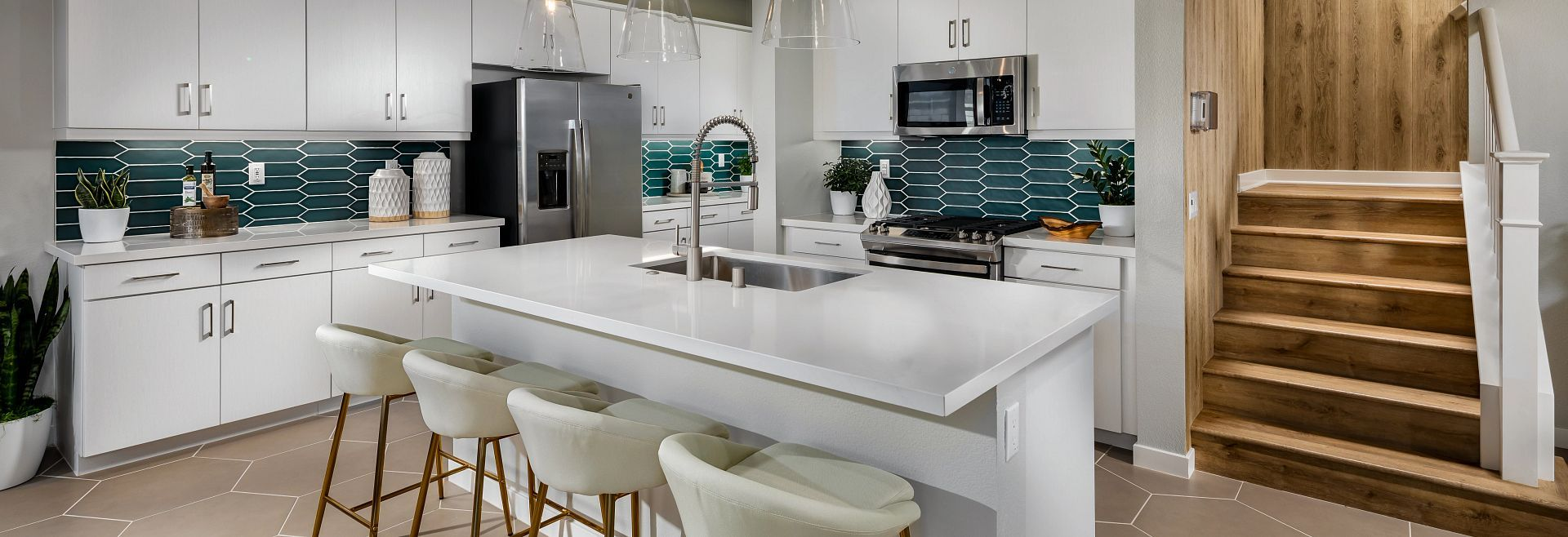 Kitchen featured in the Plan 3 By Shea Homes in San Diego, CA