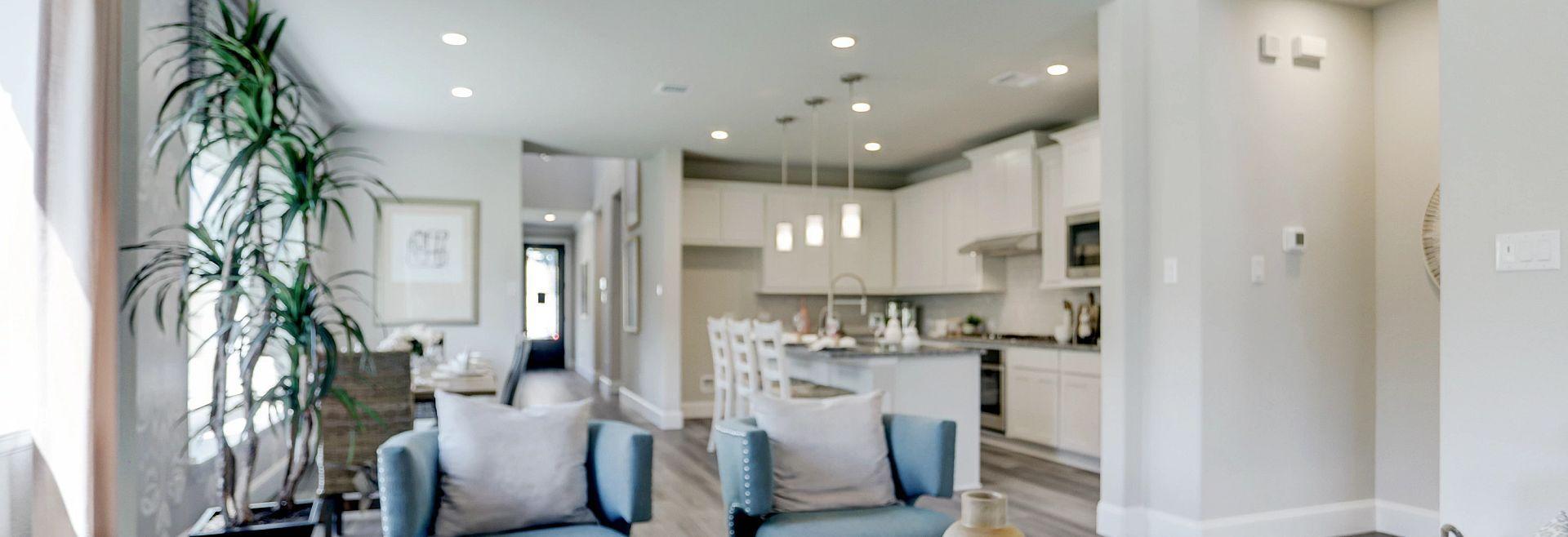 Harmony 40 Plan 3059 Living Room:Harmony 40 Model