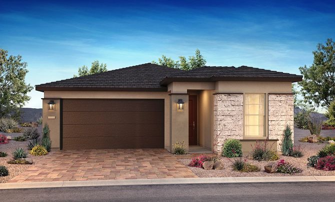 Exterior featured in the Dream By Shea Homes - Trilogy in Las Vegas, NV