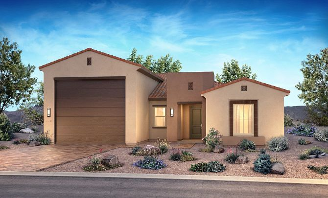 Exterior featured in the Journey By Shea Homes - Trilogy in Las Vegas, NV