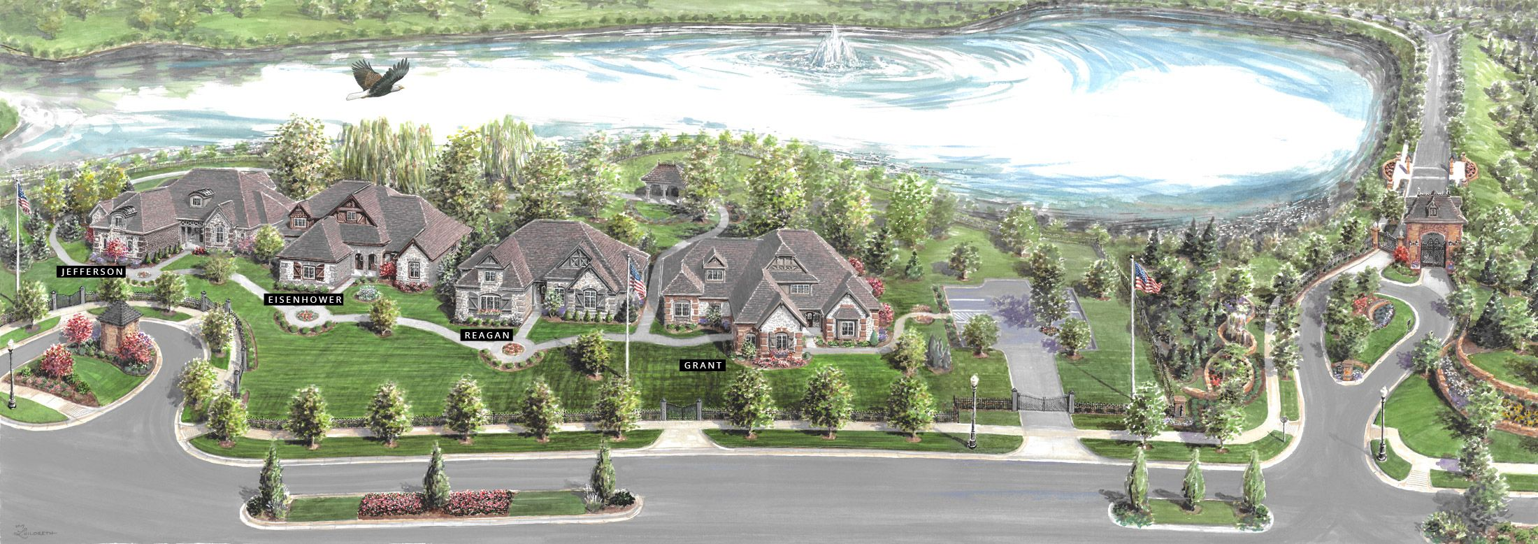 'Waterfront of West Clay' by Shoopman Homes in Indianapolis