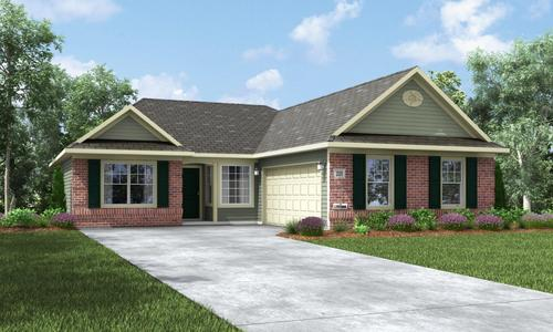 Village of New Bethel by Shoopman Homes in Indianapolis Indiana