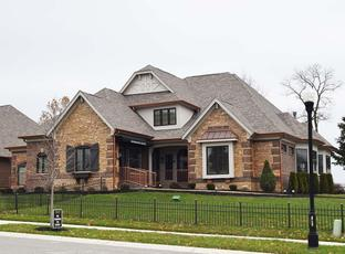 The Falcon - Waterfront of West Clay: Carmel, Indiana - Shoopman Homes
