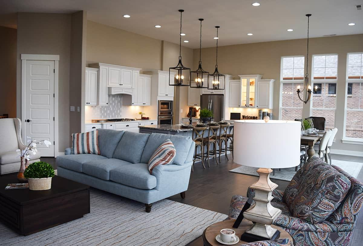 Living Area featured in The Hawk By Shoopman Homes in Indianapolis, IN