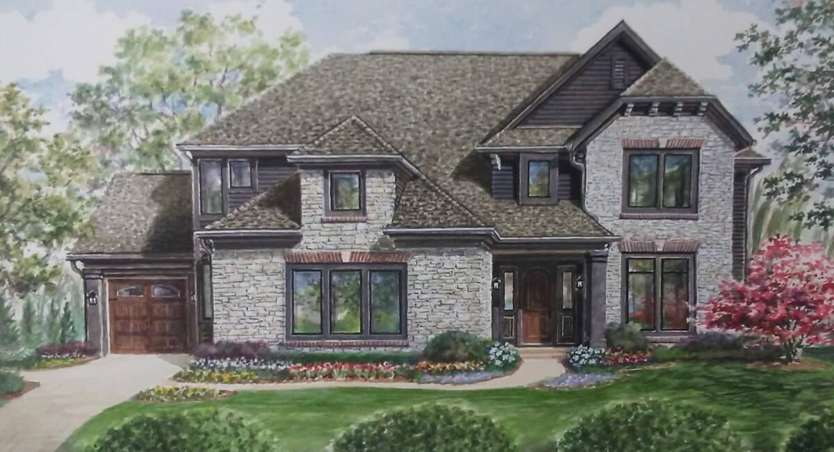 Exterior featured in the Finch By Shoopman Homes in Indianapolis, IN