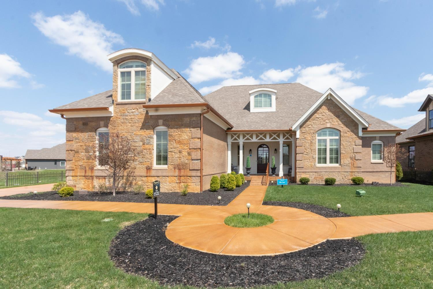 Exterior featured in The Owl By Shoopman Homes in Indianapolis, IN
