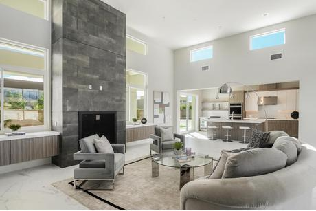Greatroom-and-Dining-in-Residence 4-at-Siena Vista Estates-in-Rancho Mirage