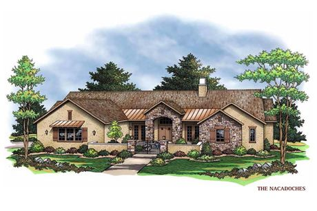 The Nacogdoches-Design-at-Sierra Classic Custom Homes- Build on Your Lot- Austin-in-Spicewood