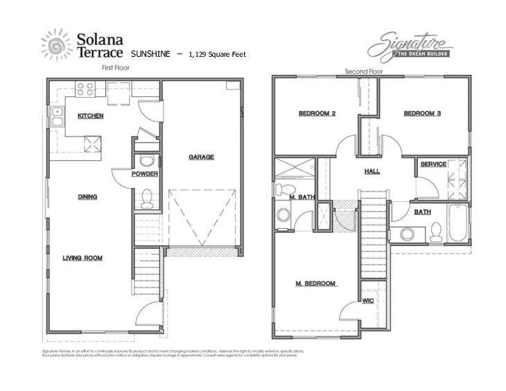 Sunshine Floor Plan