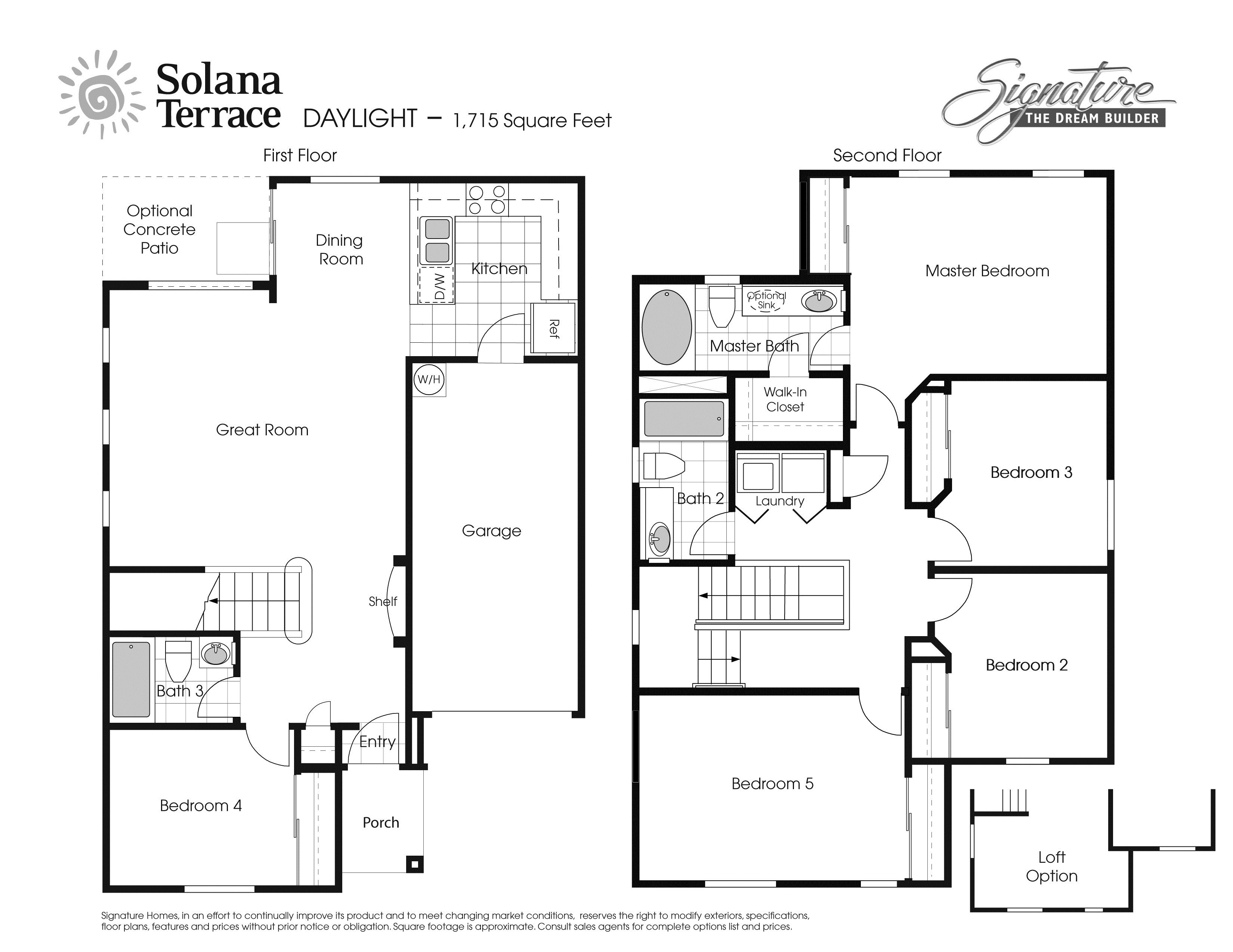 Daylight Plan Las Vegas Nevada 89115 Daylight Plan at Solana – Nellis Afb Housing Floor Plans