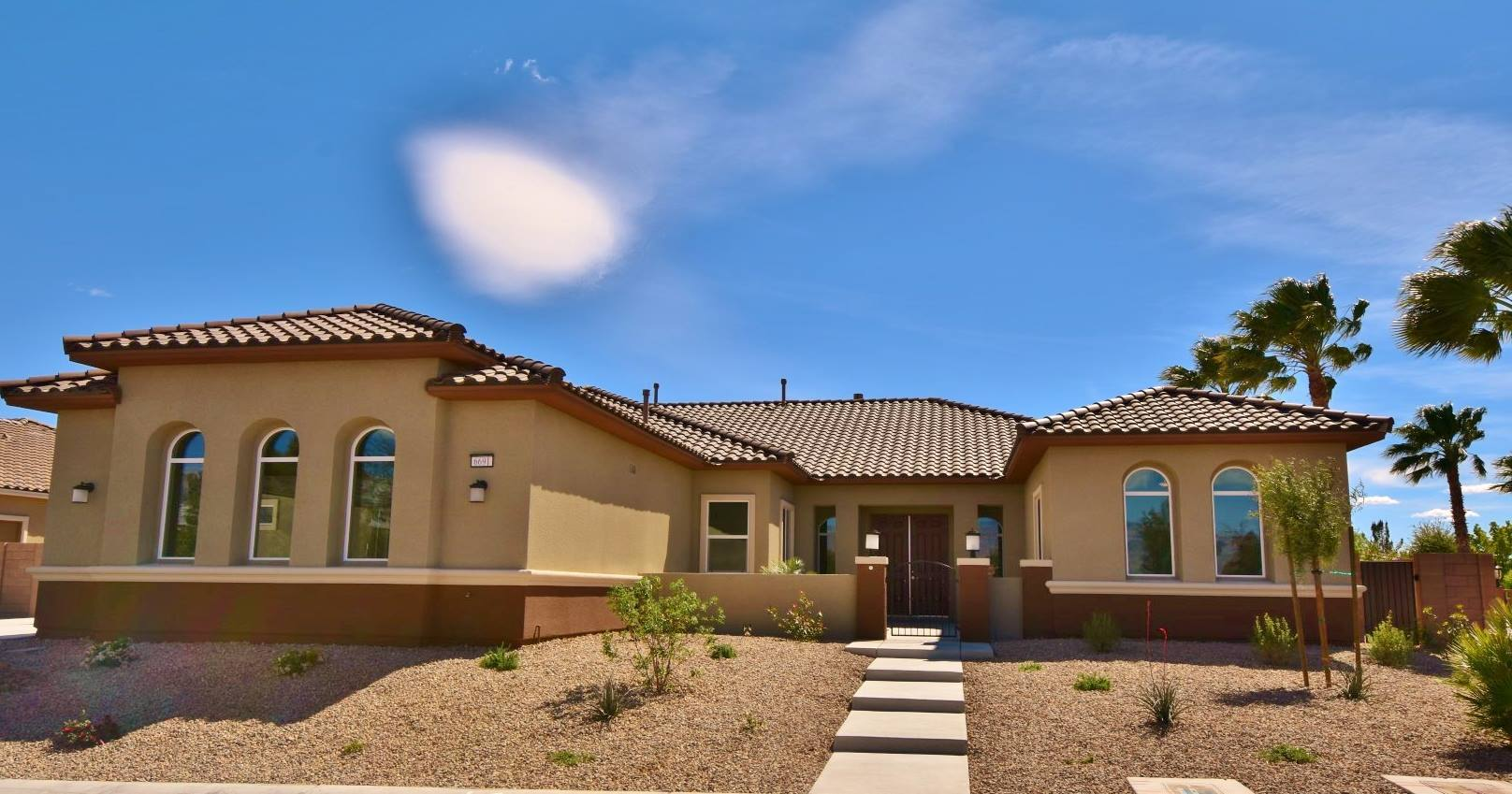 Exterior featured in the Hermosa 3300 By Signature Homes in Las Vegas, NV