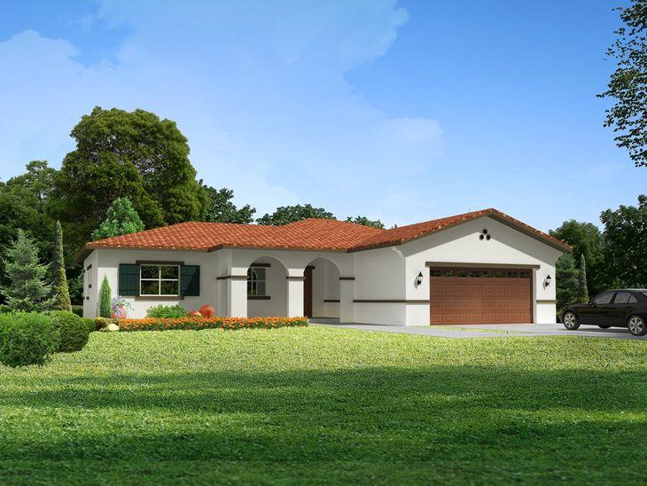 La Rosa:1,550 Sqft, 3 Bedrooms, 2 Car Garage