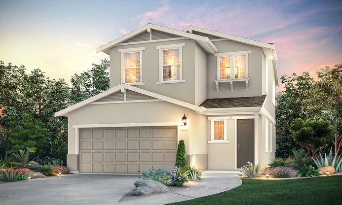 Elevation C - Residence 1