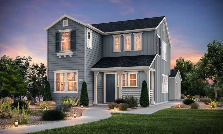 Farmhouse Elevation - Residence 2