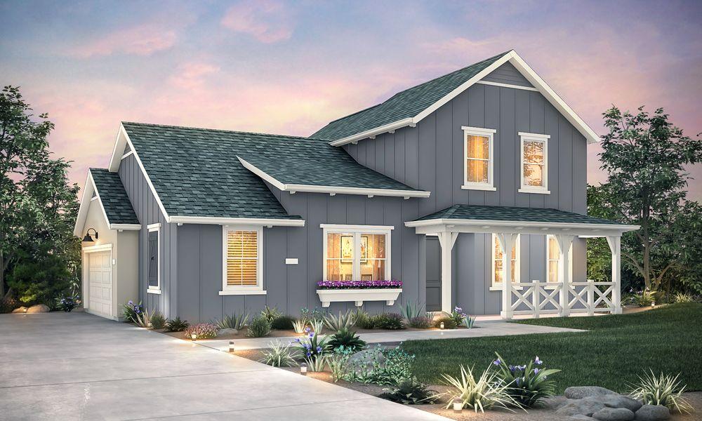 Elevation B - Farmhouse