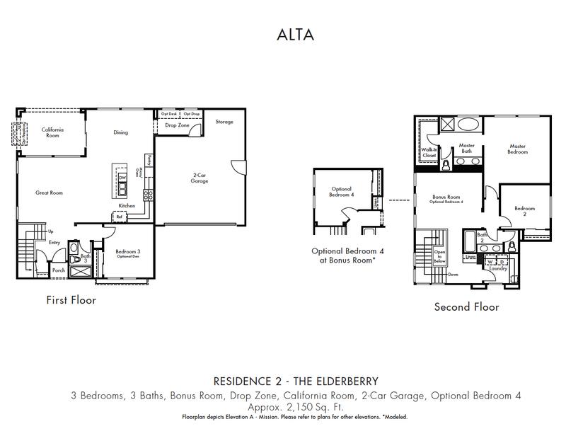 Residence 2 Floorplan