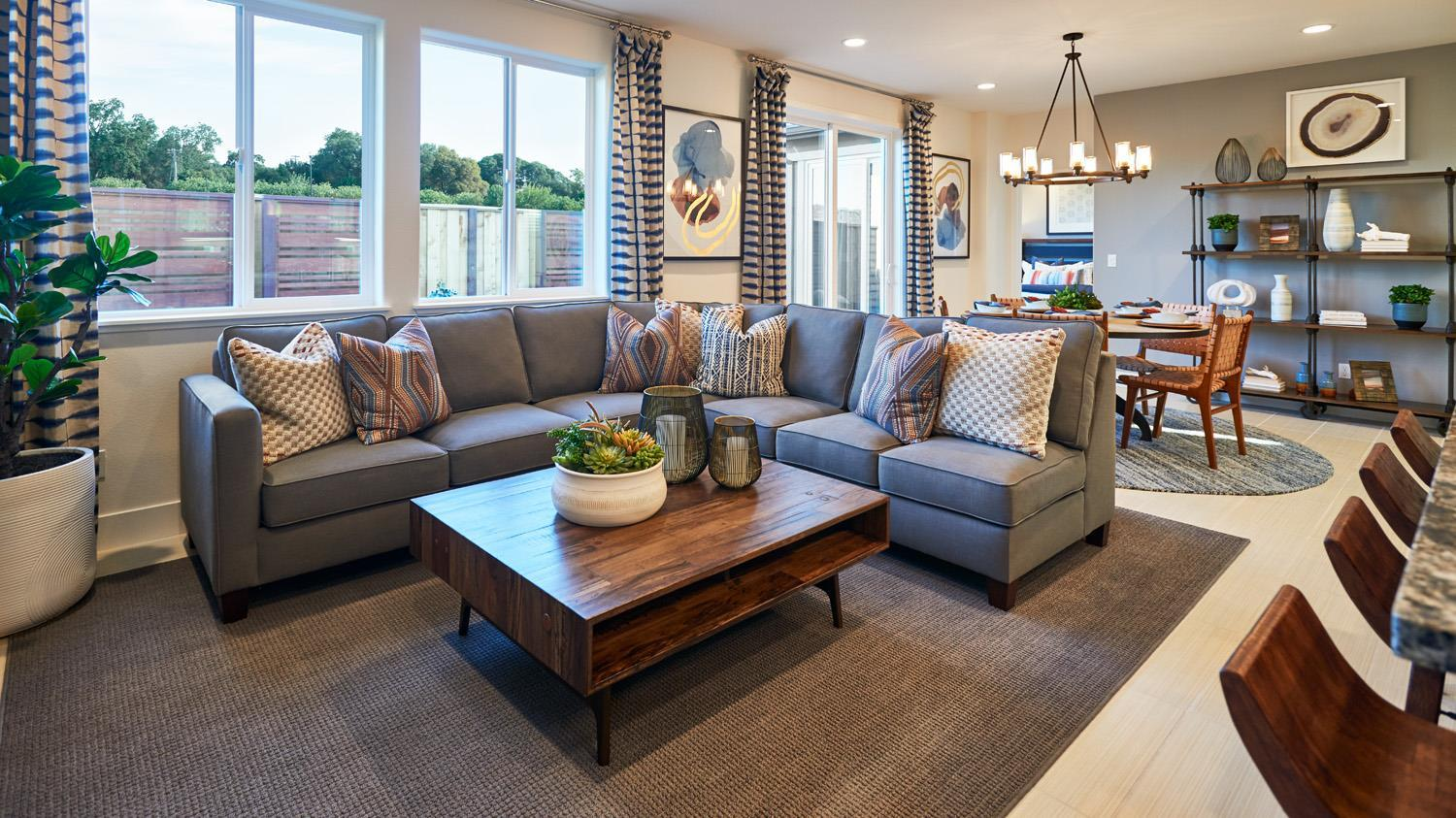 Living Area featured in the Residence 4 By Signature Homes CA in Santa Rosa, CA