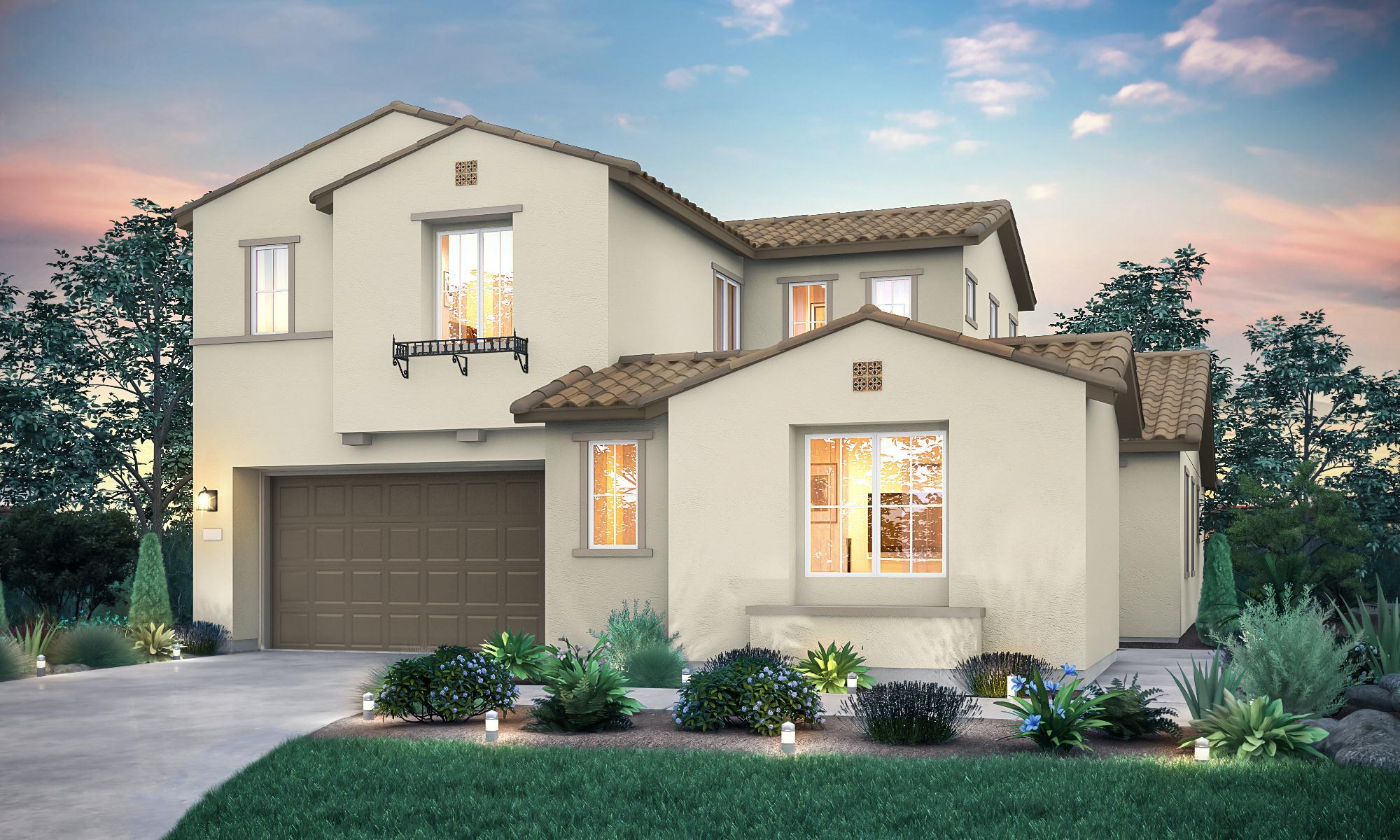 Exterior featured in the Residence 4 By Signature Homes CA in Santa Rosa, CA