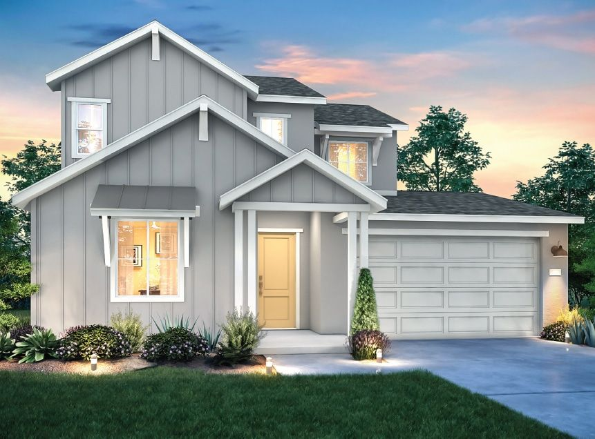 Exterior featured in the Residence 1 By Signature Homes CA in Santa Rosa, CA