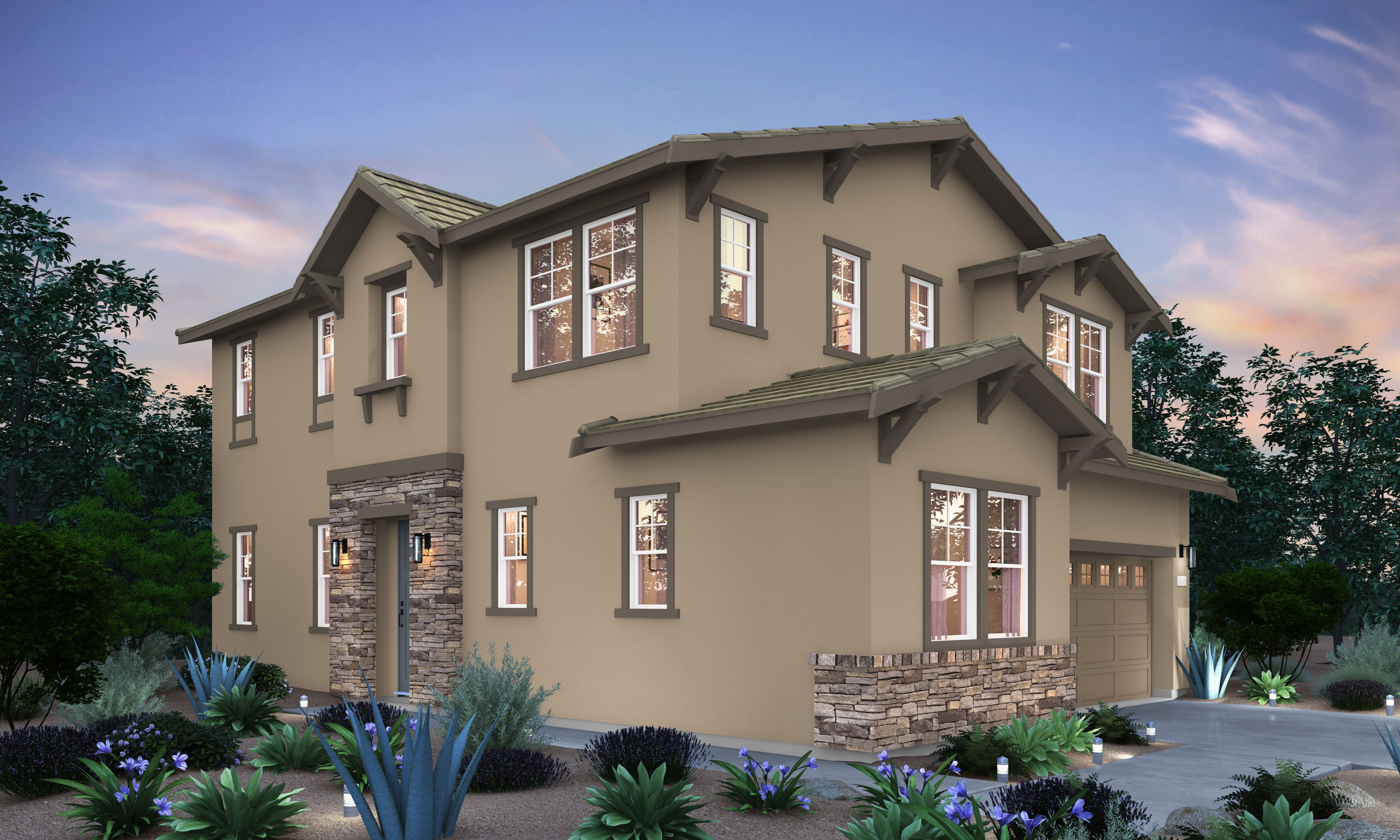 Exterior featured in the Residence 2 By Signature Homes CA in Sacramento, CA