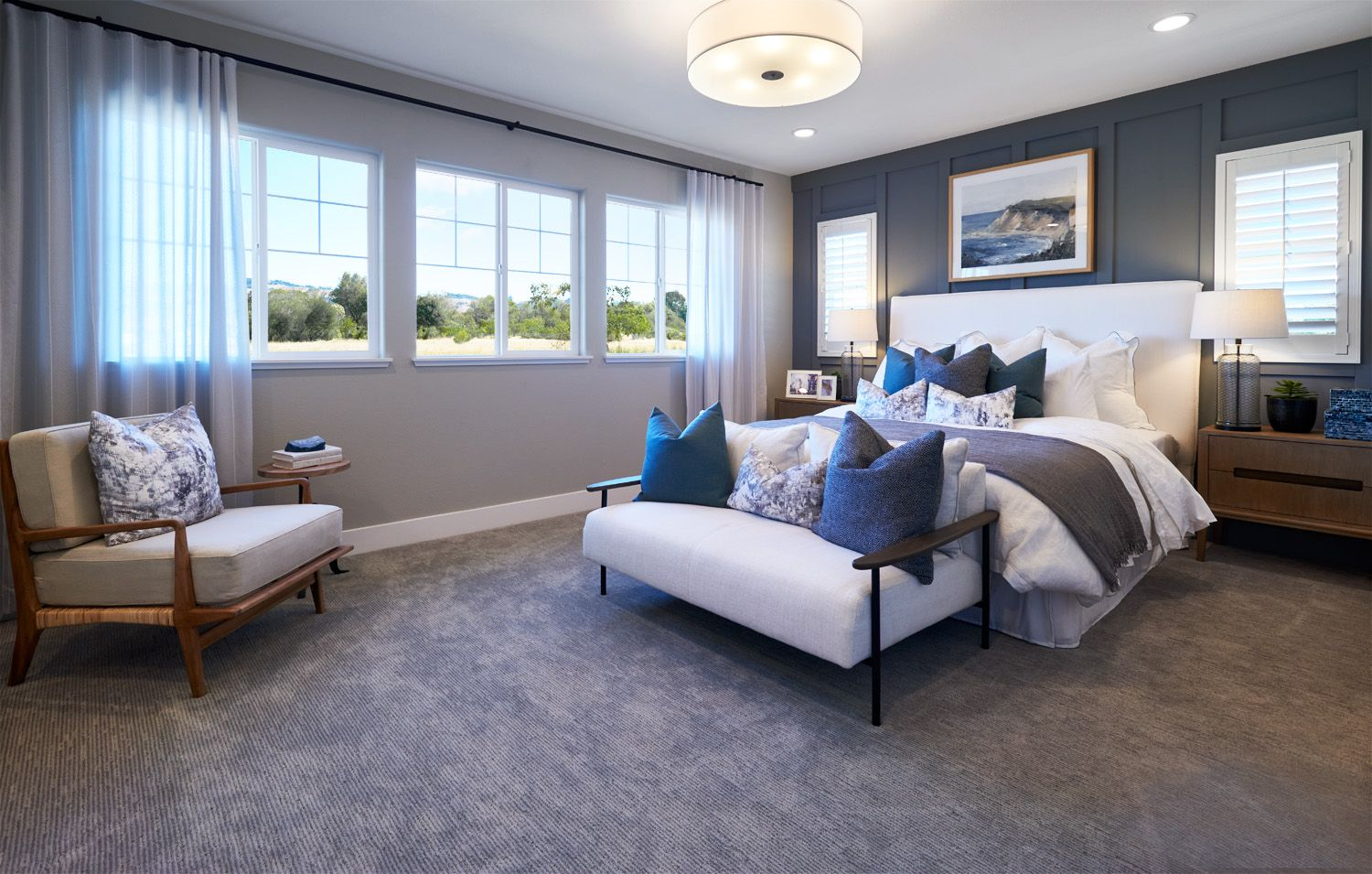 Bedroom featured in the Residence 3 By Signature Homes CA in Santa Rosa, CA