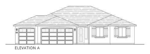 Plan 4:Elevation A