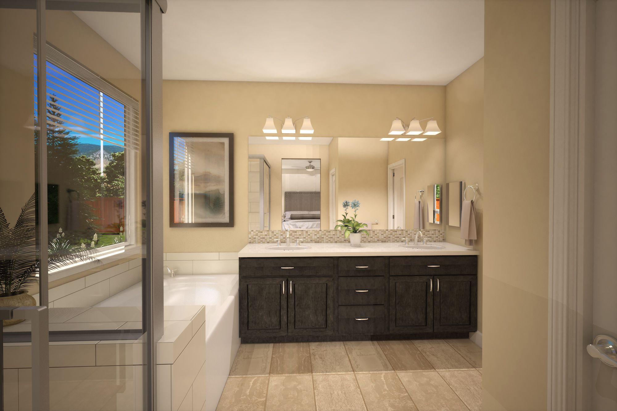 Bathroom featured in the Plan One By Silverado Homes in Reno, NV