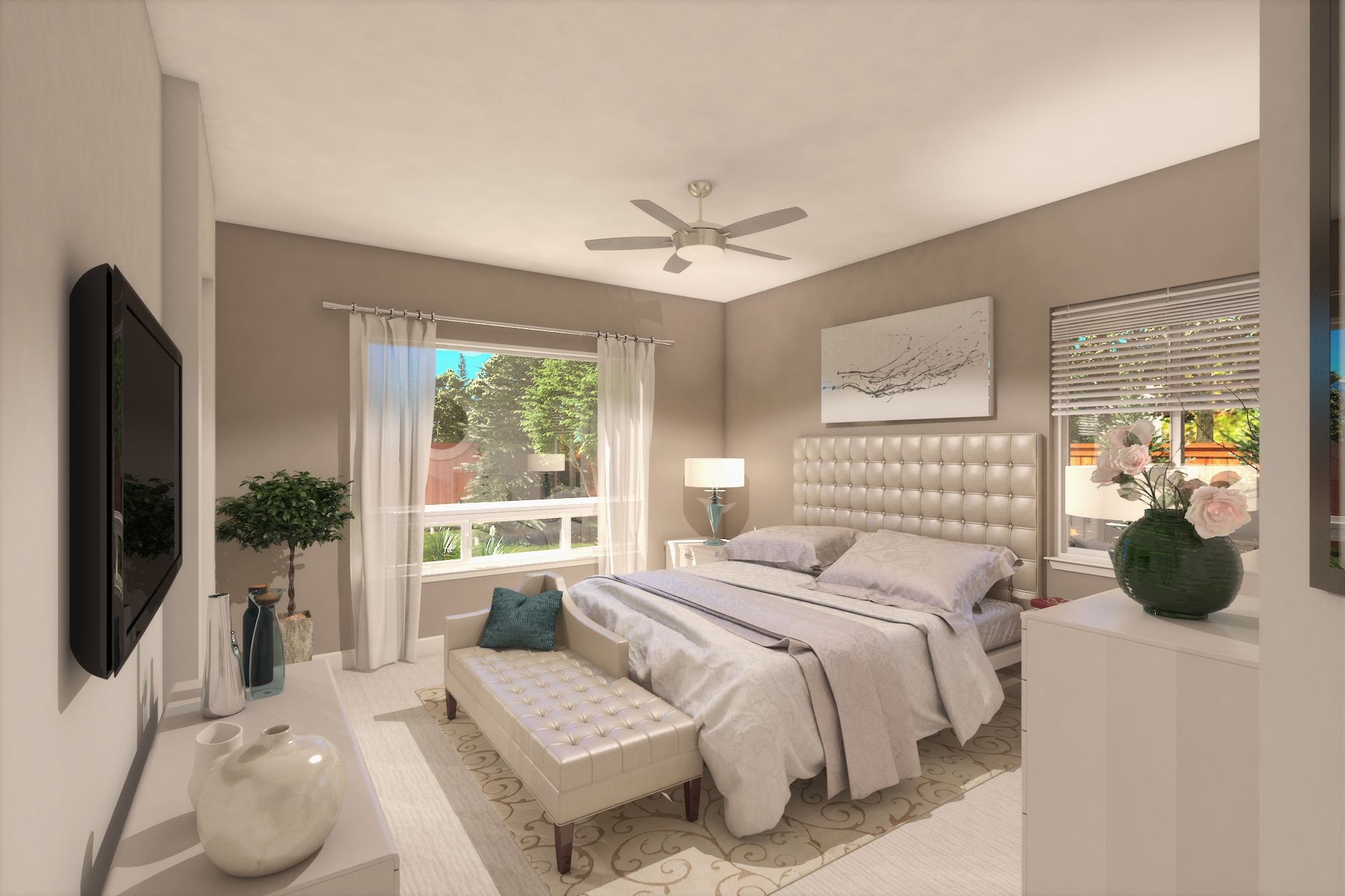 Bedroom featured in the Plan Two By Silverado Homes in Reno, NV
