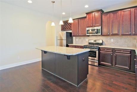Kitchen-in-Charleston-at-Summit at West Ridge-in-Dallas