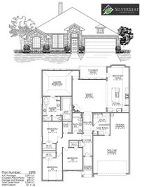 Whitestone Crest by Silver Leaf Communities in Fort Worth Texas