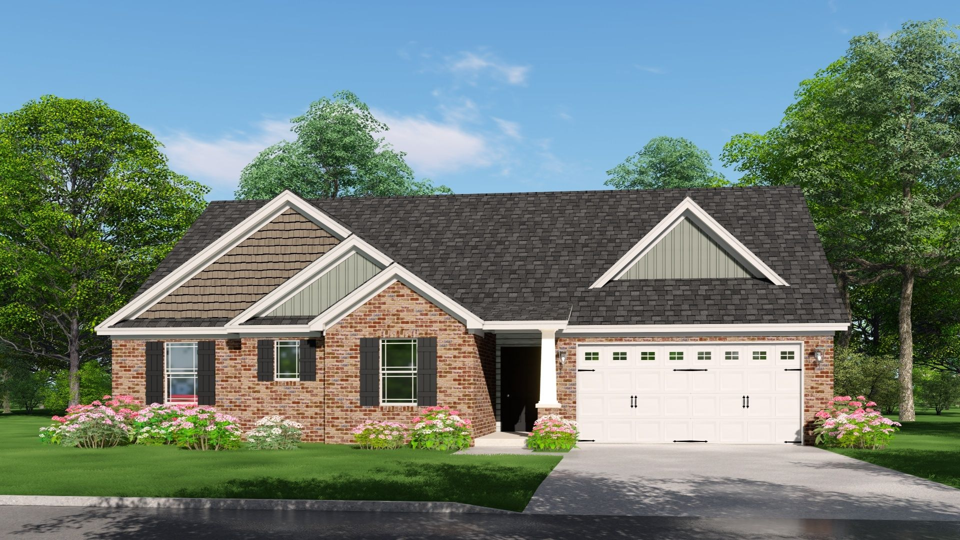 Exterior featured in The Reagan By Silverthorne Homes in Indianapolis, IN