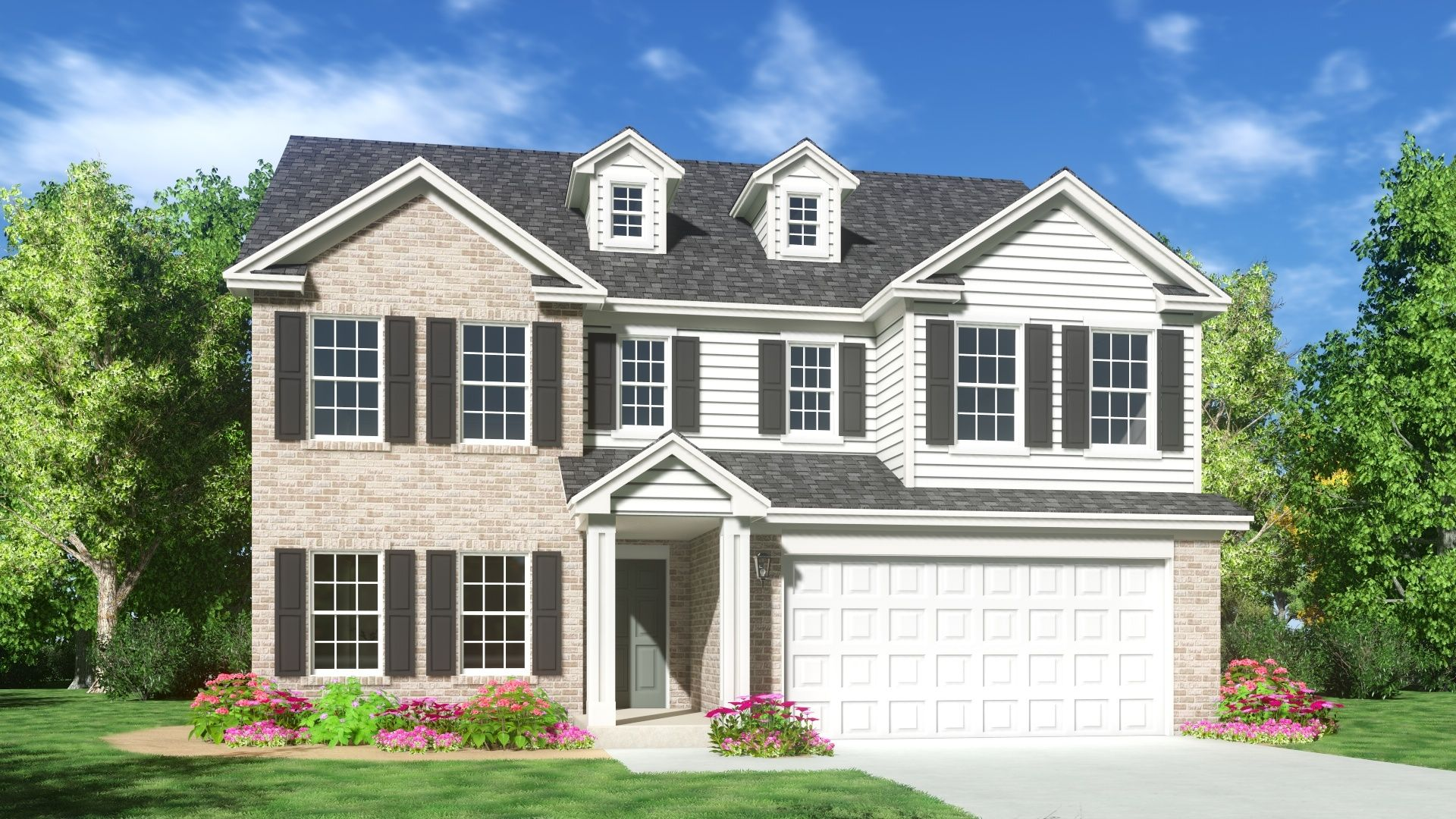 Exterior featured in The Truman By Silverthorne Homes in Indianapolis, IN