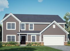 The Monroe - Flagstone Ridge: Noblesville, Indiana - Silverthorne Homes
