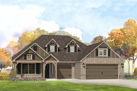 Park Place At Preston Lakes In Owasso Ok New Homes