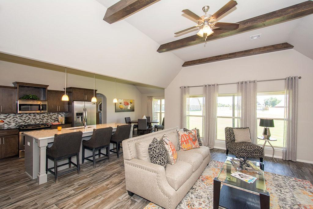 Greatroom-and-Dining-in-Bakersville-at-Providence Hills-in-Bixby