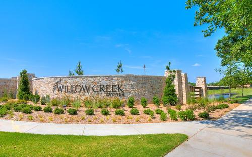 Willow Creek Estates by Simmons Homes Inc. in Tulsa Oklahoma