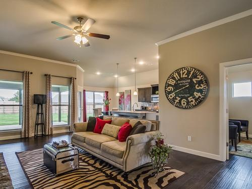 Greatroom-and-Dining-in-Raleigh-at-Willow Creek Estates-in-Bixby