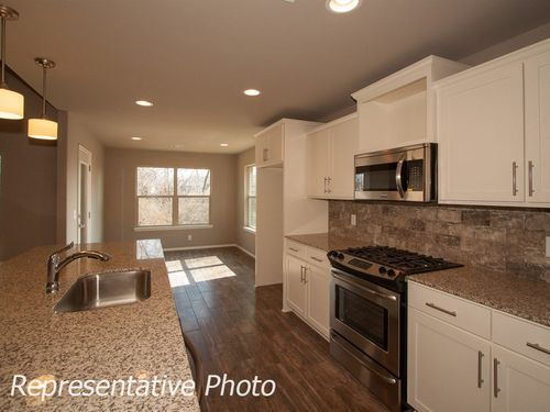 Kitchen-in-Winston-at-Willow Creek Estates-in-Bixby