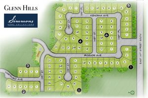 homes in Glenn Hills by Simmons Homes Inc.