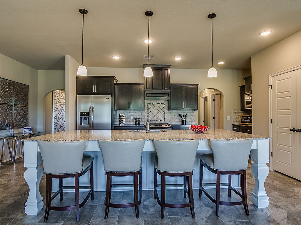 Kitchen featured in the Logan By Simmons Homes Inc. in Tulsa, OK