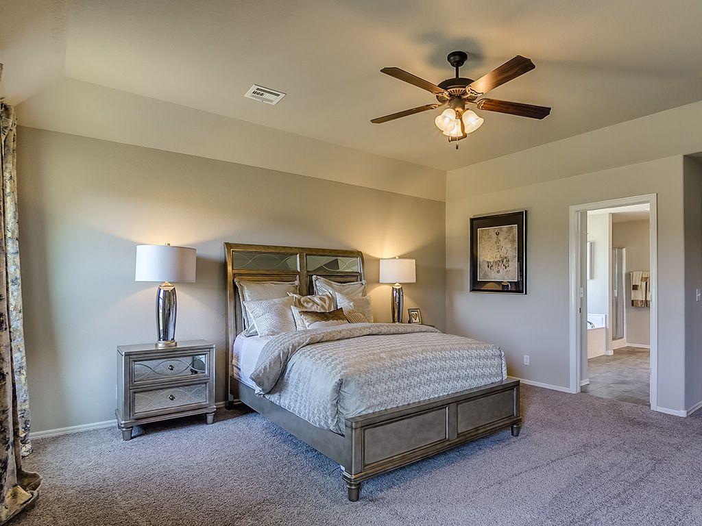 Bedroom featured in the Logan By Simmons Homes Inc. in Tulsa, OK