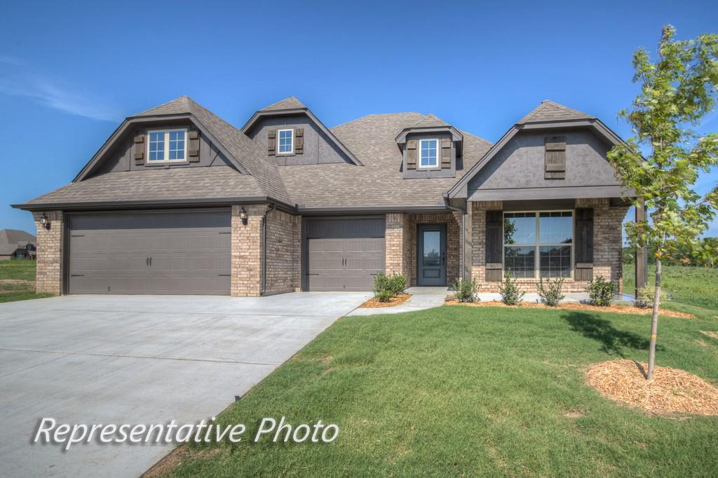 Exterior featured in the Cadence By Simmons Homes Inc. in Tulsa, OK