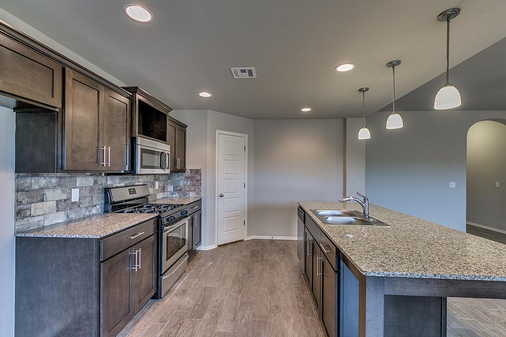 Kitchen featured in the Adeline By Simmons Homes Inc. in Tulsa, OK