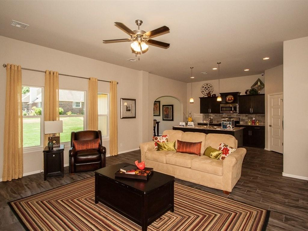 Living Area featured in the Beckett By Simmons Homes Inc. in Tulsa, OK