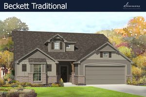 homes in Magnolia Ridge by Simmons Homes Inc.